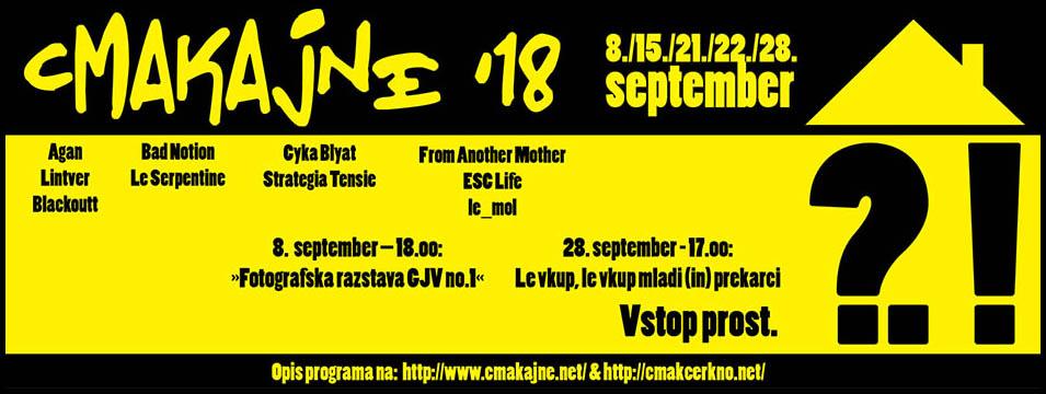 20. mednarodni festival ustvarjalnosti Cmakajne
